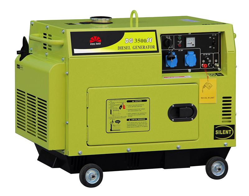 3kw silent diesel generator set,diesel generator,generator